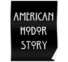 American Hodor Story Poster