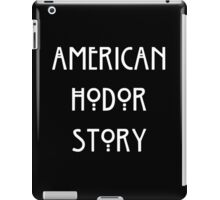 American Hodor Story iPad Case/Skin