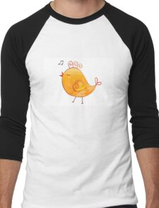 Happy Chick Men's Baseball ¾ T-Shirt