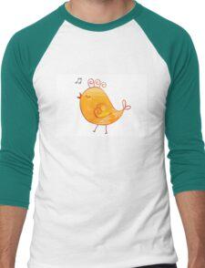 Happy Chick Men's Baseball ¾ T-Shirt