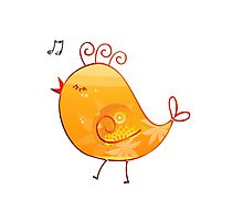 Happy Chick Photographic Print