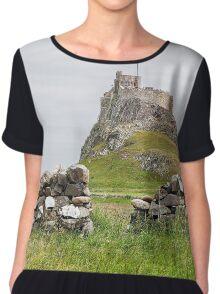 Lindisfarne Castle Chiffon Top