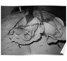 """Global"" Roses Poster"