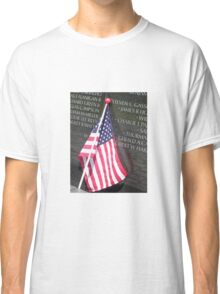 Flag For Fallen Soldier Classic T-Shirt
