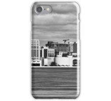 Ice Sailing BW - Madison - Wisconsin iPhone Case/Skin