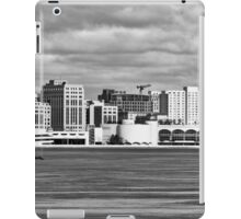 Ice Sailing BW - Madison - Wisconsin iPad Case/Skin