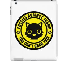 Pussies Against Trump YELLOW iPad Case/Skin