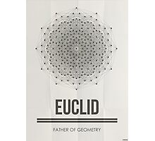 Euclid - Mathematician Posters Photographic Print