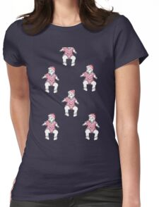 Babies Womens Fitted T-Shirt