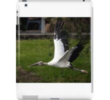 Wood Stork in Flight iPad Case/Skin