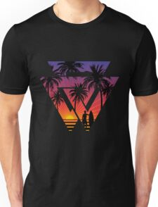 surfing with cool shape Unisex T-Shirt