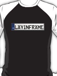 Euro Plate - LAYINFRAME T-Shirt