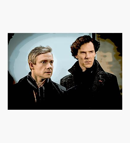 Sherlock 2 Photographic Print