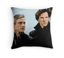 Sherlock 2 Throw Pillow