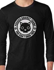 Pussies Against Trump solid Long Sleeve T-Shirt
