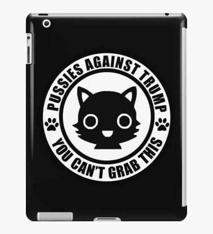 Pussies Against Trump solid iPad Case/Skin
