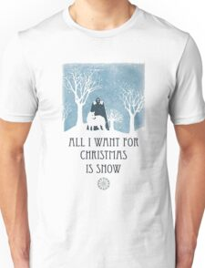 All I Want For Christmas Is Snow Game Shirt Unisex T-Shirt