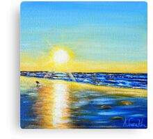 Small Sunset Canvas Print
