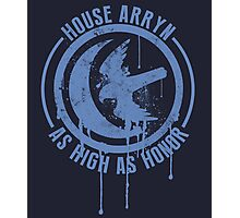 House Arryn Shirt Game of Thrones Photographic Print