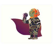 Chibi Ganondorf Vector Art Print