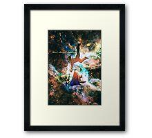 Falling v2 Framed Print