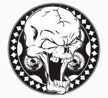 Skull Revolver Baby Tee