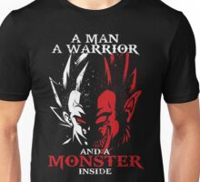 dragon ball vegeta monter inside Unisex T-Shirt