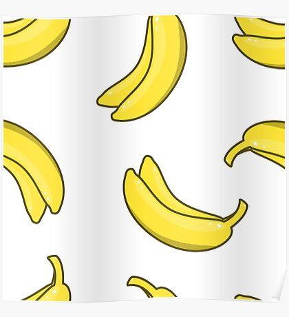 Yellow Bananas Poster