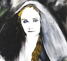 Sansa Stark Portrait by Andre Martin