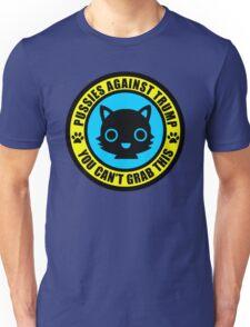Pussies Against Trump blue Unisex T-Shirt