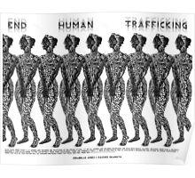 End Human Trafficking Poster Poster