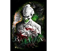 Batman Arkham City Joker Photographic Print