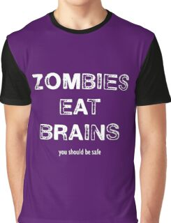 Zombies Eat Brains Graphic T-Shirt