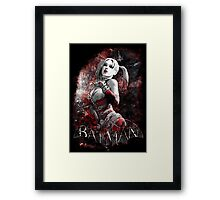 Batman Arkham City Harleyquinn Framed Print
