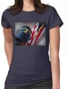 My Dad's Favorite Hat Womens Fitted T-Shirt