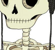 Skeleton Kitty Sticker