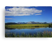 Reflections of the Rockies Canvas Print