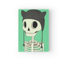 Skeleton Kitty Hardcover Journal