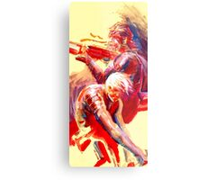 Solid and Raiden Metal Print