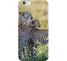 Cheetah Mother and Son iPhone Case/Skin