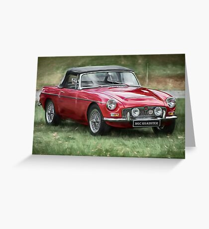 Classic MG Greeting Card