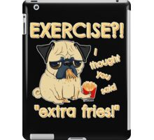 Pugs with Extra Fries iPad Case/Skin