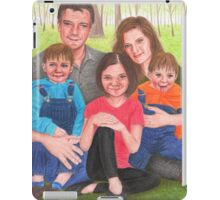 Caskett family  iPad Case/Skin
