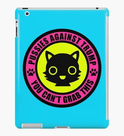 Pussies Against Trump Meow iPad Case/Skin