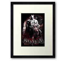 Batman & Harley Quinn Arkham City Framed Print