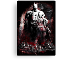 Batman & Harley Quinn Arkham City Canvas Print