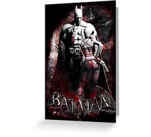 Batman & Harley Quinn Arkham City Greeting Card