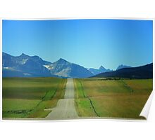 Take A Drive On A Country Road Poster
