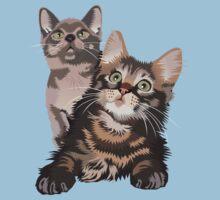 Kittens One Piece - Short Sleeve