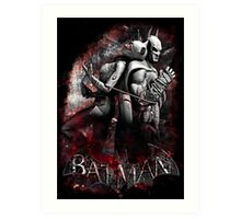 Batman & Catwoman Arkham City Art Print